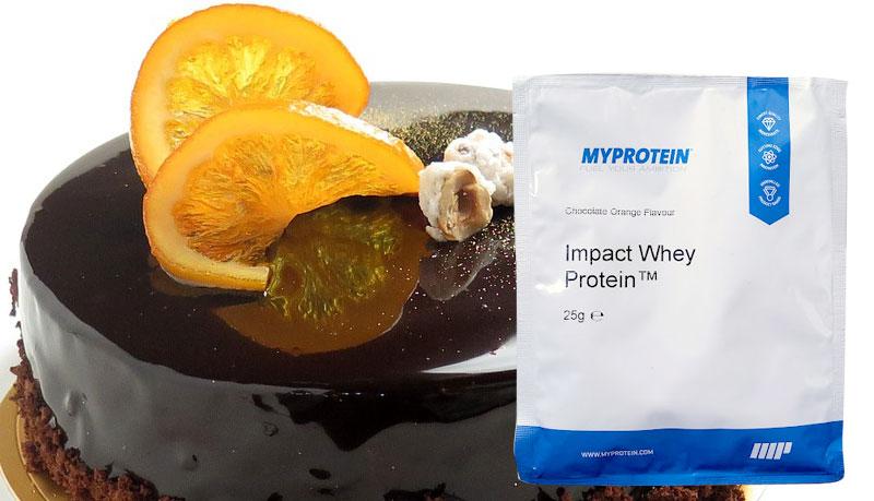 マイプロテイン チョコレートオレンジ