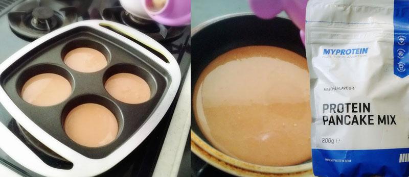 マイプロテイン プロテインパンケーキ 作り方