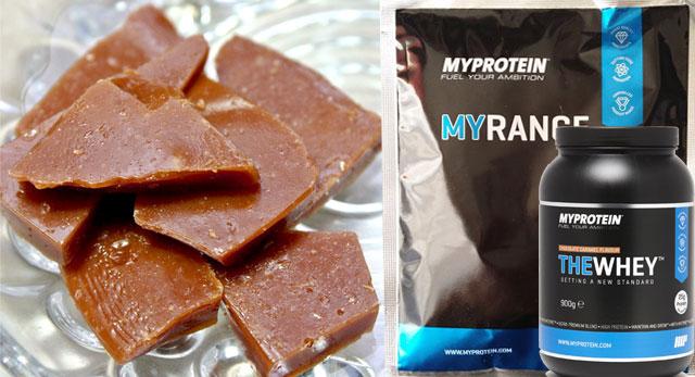 マイプロテイン THEWHEY チョコキャラメル味