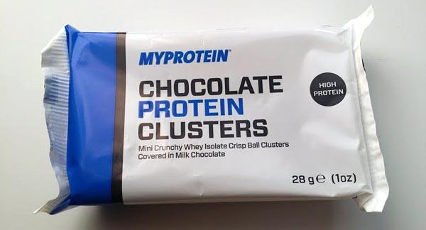 マイプロテイン【チョコレートプロテインクラスター】チョコレート味 感想レビュー