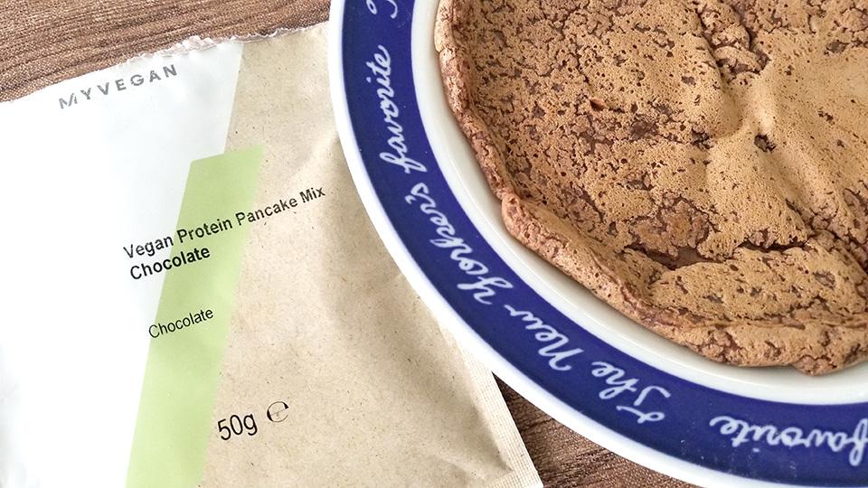 マイプロテイン ビーガンパンケーキミックス チョコレート味